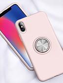 זול מגנים לאייפון-מגן עבור Apple iPhone XS / iPhone XR / iPhone XS Max מחזיק טבעת כיסוי אחורי אחיד רך TPU