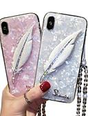 זול מגנים לטלפון-מגן עבור Huawei Huawei P20 / Huawei P30 / Huawei P30 Pro עמיד בזעזועים כיסוי אחורי נוצות רך ג'ל סיליקה / P10 Plus / P10