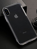 זול מגנים לאייפון-מגן עבור Apple iPhone XS / iPhone XR / iPhone XS Max שקוף כיסוי אחורי שקוף רך TPU