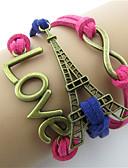 abordables robe mariage civil-Bracelets Vintage Homme Femme Rétro Tour Rétro Vintage Mode Bracelet Bijoux Rouge pour Quotidien Festival