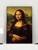 Недорогие Армейские часы-Отпечаток в раме Холст в раме С принтом - Люди Полистирен Масляные картины Предметы искусства