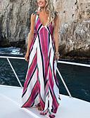 povoljno Maxi haljine-Žene Osnovni Elegantno Korice Haljina Jednobojni Maxi