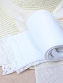 זול הלבשה תחתונה וגרביים לבנות-מידה אחת ורוד מסמיק / פוקסיה / כחול ים גרביים & גרביונים פוליאסטר סקסית אחיד מתוק בנות ילדים 5 סטים