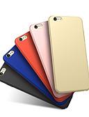 זול מגנים לאייפון-מגן עבור Samsung Galaxy A7 עמיד בזעזועים / מזוגג כיסוי אחורי אחיד קשיח פלסטי