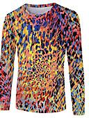 povoljno Muške majice i potkošulje-Majica s rukavima Muškarci - Osnovni Dnevni Nosite Color block Duga US46
