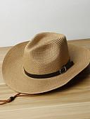 זול סטים של ביגוד לבנות-S / XL לבן / בז' / חאקי כובעים ומצחיות פשתן מסוגנן אחיד וינטאג' / פעיל / בסיסי בנים / בנות ילדים / פעוטות