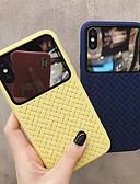 זול מגנים לאייפון-מארז עבור iPhone xs max / iPhone x המראה האחורי כיסוי קריקטורה קשה אקריליק עבור iPhone 6 / iPhone 6 פלוס / iPhone 6s / 6splus / 7/8/7 פלוס / 8 פלוס / x / xs / xr / xs max