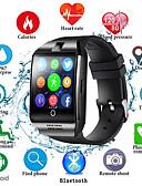 זול להקות Smartwatch-Q18s שעון חכם גברים תמיכה tf כרטיס ה- SIM לדחוף הודעה לענות להתקשר כושר גשש Bluetooth smartwatch עבור הטלפון אנדרואיד
