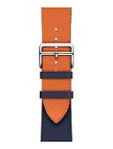 זול להקות Smartwatch-להקת שעונים לסדרת שעון אפל 4/3/2/1 רצועת שורש כף יד עור אמיתי של אפל