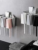 זול בגדי ים וביקיני-נורדית מינימליסטי בסגנון מברשת שיניים מדף אמבטיה אחסון מתלה קיר רכוב בעל מברשת שיניים