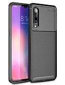 זול מגנים לטלפון-מארז עבור xiaomi mi 9 9 se shockproof לכסות אחורית מוצק צבע רך tpu a2 a2 לייט 8 8 lite mi לשחק mix3 pocophone f1