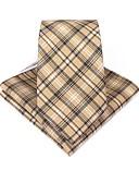 זול עניבות ועניבות פרפר לגברים-עניבה ואסקוט - דפוס / משובץ מסיבה / עבודה / בסיסי בגדי ריקוד גברים