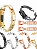 זול להקות Smartwatch-צפו בנד ל Fitbit Charge 3 פיטביט עיצוב תכשיטים מתכת אל חלד רצועת יד לספורט