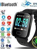 זול להקות Smartwatch-a6s חכמים wristband לצפות בקצב הלב לפקח על לחץ הדם פעילות גשש צמיד חכם הלהקה עבור ios