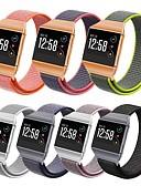 זול להקות Smartwatch-צפו בנד ל Fitbit ionic פיטביט רצועת ספורט ניילון רצועת יד לספורט