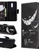 Недорогие Чехлы для телефонов-Кейс для Назначение LG LG V30 / LG V20 / LG Stylo 4 Кошелек / Защита от удара / со стендом Чехол Слова / выражения Твердый Кожа PU / LG G6