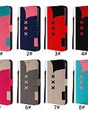 זול מגנים לטלפון-מגן עבור Huawei Huawei Mate 20 lite / Huawei Mate 20 pro / Huawei Mate 20 ארנק / מחזיק כרטיסים / נפתח-נסגר כיסוי מלא אחיד קשיח עור PU