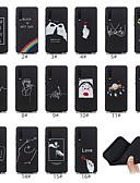 povoljno Maske za mobitele-Θήκη Za Huawei Huawei P20 / Huawei P20 Pro / Huawei P20 lite Mutno / Uzorak Stražnja maska Crtani film Mekano TPU / P10 Lite