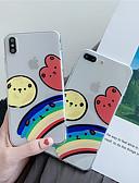 זול מגנים לאייפון-מארז iPhone xr / iPhone xs מקס דפוס / שקוף / shockproof גב כיסוי קריקטורה רכה tpu עבור 6 6 ועוד 6s 6splus 7 8 7plus 8 x x x x x