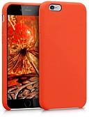 Недорогие Кейсы для iPhone-Кейс для Назначение Apple iPhone 6s / iPhone 6 Защита от удара / Защита от пыли Кейс на заднюю панель Однотонный Мягкий ТПУ