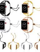 זול להקות Smartwatch-צפו בנד ל סדרת Apple Watch 5/4/3/2/1 Apple עיצוב תכשיטים מתכת אל חלד רצועת יד לספורט