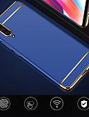 זול מגנים לטלפון-מגן עבור Xiaomi Xiaomi Mi Max 3 / Xiaomi Mi 8 / Xiaomi Mi 8 Lite עמיד בזעזועים / ציפוי / אולטרה דק כיסוי אחורי אחיד קשיח PC / Xiaomi Mi 6
