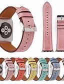 hesapli Smartwatch Bantları-Watch Band için Apple Watch Serisi 5/4/3/2/1 Apple Spor Bantları Gerçek Deri Bilek Askısı