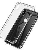 זול מגנים לאייפון-מגן עבור Apple iPhone XS / iPhone XR / iPhone XS Max עמיד בזעזועים / שקוף כיסוי אחורי שקוף רך TPU