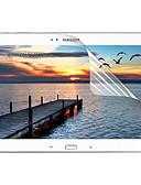זול מגני מסך לטאבלט-Samsung GalaxyScreen ProtectorTab 3 10.1 (HD) ניגודיות גבוהה מגן מסך קדמי יחידה 1 PET