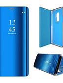 hesapli Cep Telefonu Kılıfları-Pouzdro Uyumluluk Samsung Galaxy S6 edge Flip / Otomatik Uyuma / Uyanma Tam Kaplama Kılıf Solid Sert PC
