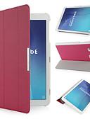 halpa Samsung Case-Etui Käyttötarkoitus Samsung Galaxy Tab E 9.6 Iskunkestävä / Pölynkestävä Suojakuori Yhtenäinen Kova PU-nahka