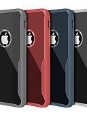 זול מגנים לאייפון-מגן עבור Apple iPhone 6s Plus / iPhone 6 Plus עמיד בזעזועים / אולטרה דק / שקיפות כיסוי אחורי אחיד רך TPU