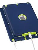 זול במקרה iPad-מגן עבור Apple iPad Air / iPad 4/3/2 / iPad Mini 3/2/1 עמיד בזעזועים כיסוי אחורי אחיד רך PC / ג'ל סיליקה / iPad Pro 10.5 / iPad (2017)