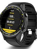 Недорогие Цифровые часы-Муж. Смарт Часы Цифровой Современный Спортивные силиконовый 30 m Защита от влаги GPS Пульсомер Цифровой На каждый день На открытом воздухе - Черный Красный Синий