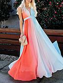 povoljno Maxi haljine-Žene Širok kroj Swing kroj Haljina Kravata S naramenicama Maxi