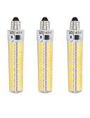זול להקות Smartwatch-3pcs 5 W נורות תירס לד 1000-1200 lm E12 T 136 LED חרוזים SMD 5730 Spottivalo דקורטיבי לבן חם לבן קר 220 V 110 V