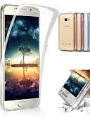 hesapli Cep Telefonu Kılıfları-Pouzdro Uyumluluk Samsung Galaxy A5 (2017) Şoka Dayanıklı / Yarı Saydam Arka Kapak Şeffaf Yumuşak Plastik / Silika Jel