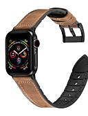 זול רצועת שעונים-עור אמיתי סיליקון wristband לצפות הלהקה עבור Apple Watch סדרה 4/3/2/1 ספורט פרק כף היד