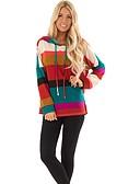 povoljno Ženske majice s kapuljačama i trenirke-Žene Ležerne prilike Hoodie Color block