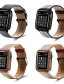 זול להקות Smartwatch-צפו בנד ל סדרת Apple Watch 5/4/3/2/1 Apple אבזם קלאסי ניילון / עור אמיתי רצועת יד לספורט