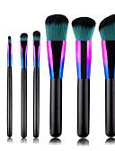 hesapli Göz Farları-Profesyonel Makyaj fırçaları 7 adet Yumuşak Yeni Dizayn Tam Kaplama Sevimli Rahat Ahşap / Bambu için Makyaj seti Makyaj Aletleri Makyaj Fırçaları Eyeliner Fırçası Allık Fırçası Makyaj fırçası Dudak