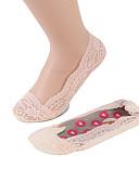 זול גרביים וגרביונים-בגדי ריקוד נשים דק גרביים - אחיד 15D חום בהיר לבן ורוד מסמיק מידה אחת