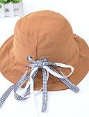זול כובעים לנשים-כל העונות שחור ורוד מסמיק צהוב כובע צמר כובע פאדורה כובע שמש קולור בלוק כותנה פעיל בסיסי סגנון חמוד בגדי ריקוד נשים