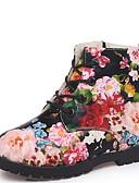 povoljno Majice za djevojčice-Djevojčice Vojničke čizme Umjetno krzno Čizme Mala djeca (4-7s) Cvijet Obala / Crn Zima