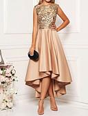 povoljno Nježna čipka-Žene Elegantno A kroj Haljina Cvjetni print Asimetričan