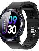 hesapli Akıllı Saatler-Akıllı İzle Dijital Modern Stil Stortif Silikon 30 m Su Resisdansı Kalp Ritmi Monitörü Bluetooth Dijital Günlük Dış Mekan - Siyah Yeşil Havuz