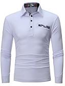 povoljno Majica s rukavima-Polo Muškarci - Posao / Elegantno Dnevno / Vikend Jednobojni Obala