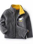 povoljno Jakne i kaputi za dječake-Djeca Dječaci Aktivan Print Jakna i kaput Fuksija