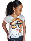 povoljno Majica-Majica s rukavima Žene Dnevno Jednobojni Obala