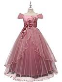 povoljno Haljine za djevojčice-Djeca Djevojčice Cvjetni print Haljina Blushing Pink